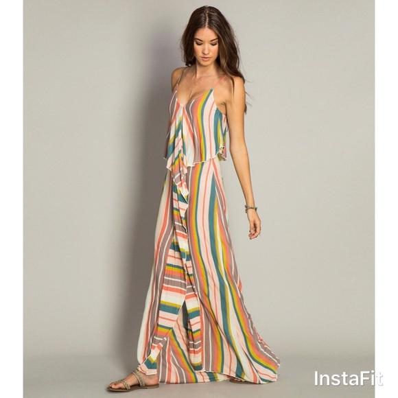 f18002bb0248f O'Neill Dresses | Hp Oneill Skylar Maxi Dress | Poshmark